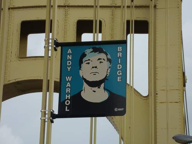 Ponte que ganhou o nome de Andy Warhol
