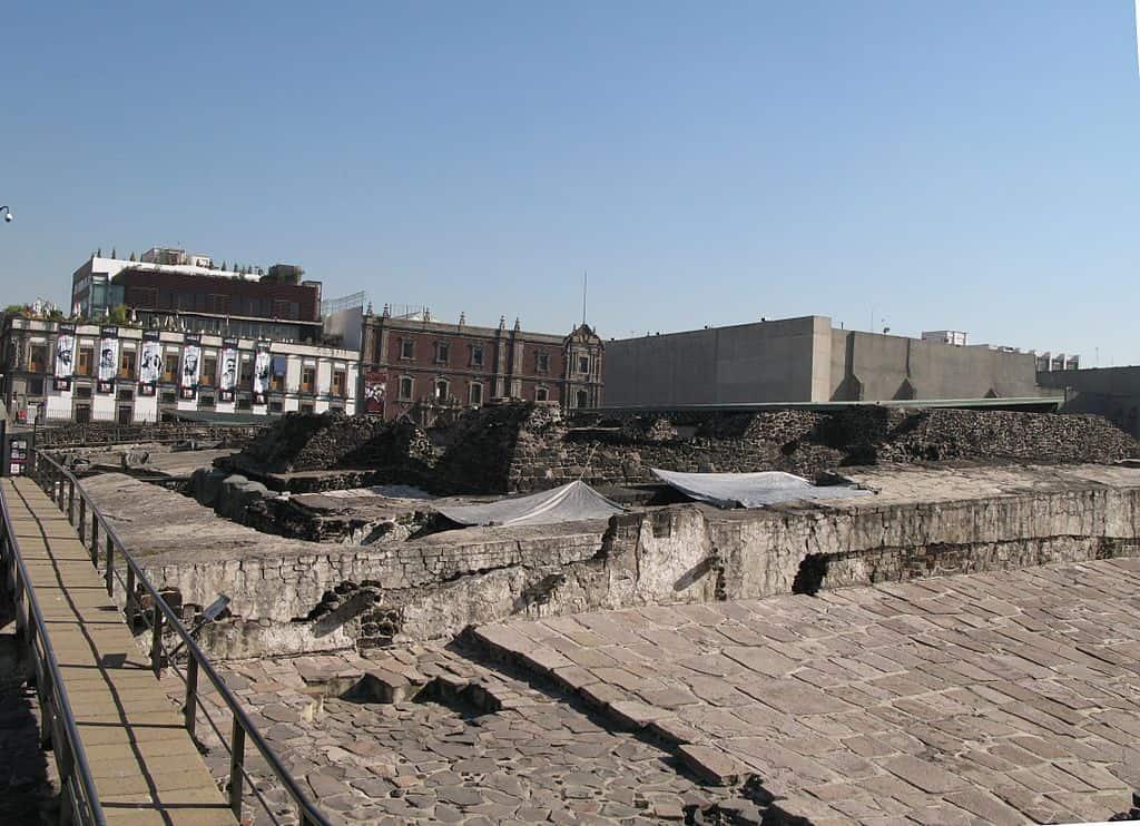 Ruínas de Tenochtitlán