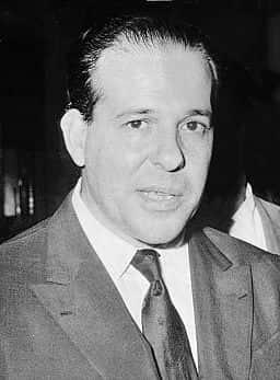 João Goulart, presidente deposto pelo Golpe Militar em 1964.