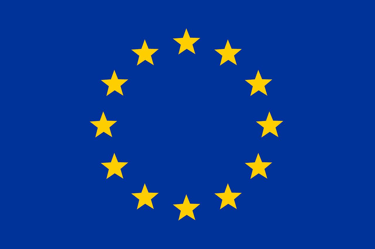 Bandeira União Europeia.