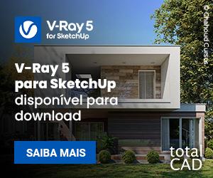 Adquira V-Ray para SketchUp