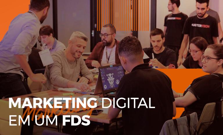 Descubra o marketing digital em um FDS