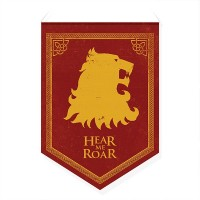 Bandeirola Casas Westeros Lannister - Game of Thrones