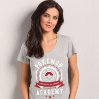 Camiseta Feminina Pokémon University