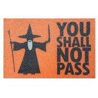 Capacho You Shall Not Pass - Senhor dos Anéis