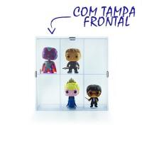 Expositor Funko Pop com Tampa Frontal - 6 Nichos