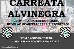 Torcedores organizam carreata pelas ruas de Florianópolis para domingo