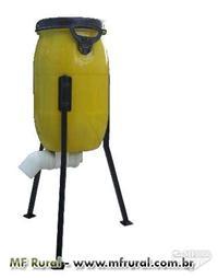 Alimentador automático para GALINHAS, milho, ração peletizada