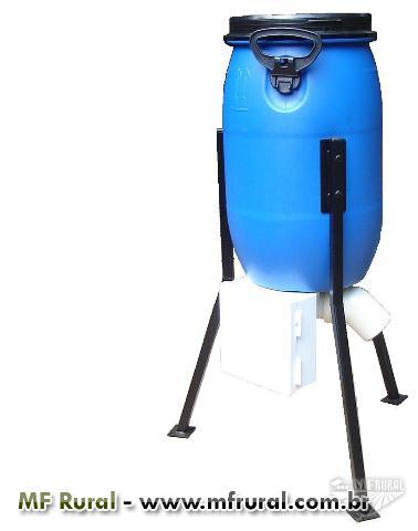 Alimentador automático para peixes