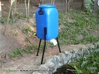 Alimentador automatico para peixes