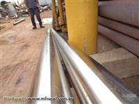 TUBOS DE INOX 304 - BARRAS DE 8 A 9 METROS