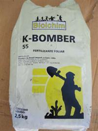 Fertilizante K BOMBER 55 2,5kg FOLIAR BIOLCHIM