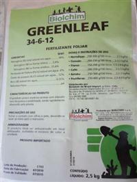 Fertilizante Greenleaf 34-6-12 2,5kg BIOLCHIM