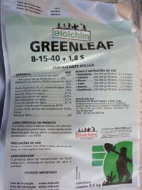 Fertilizante Greenleaf 8-15-40 2,5kg BIOLCHIM