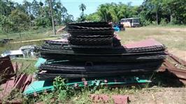 Chapa para montagem de silo