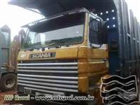 Caminhão  Scania R 113 360 Plataforma traçado canaviera  ano 95