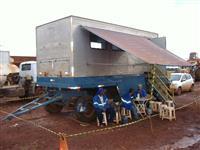 Caçambas , Plataformas para transporte de maquinas e toras