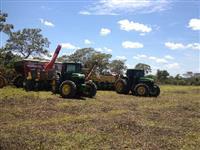 Trator John Deere 7505 4x4 ano 01