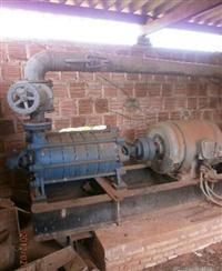Conjunto de irrigação motor/bomba/chassi/transf/canhao
