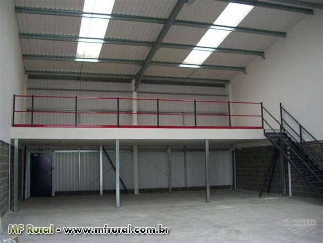 Galp es mezaninos e estruturas met licas instala es for How to build a mezzanine floor in a garage