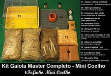 Kit Gaiola Master para Mini Coelhos
