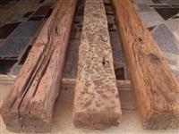 Dormentes de madeira de Lei