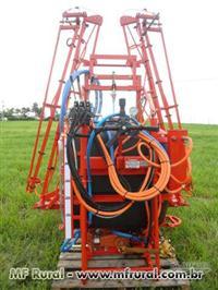 Pulverizador 600 lts Barramento Hidraulico