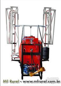 Pulverizador Land Track 600 litros, 24 bicos de 3 vias