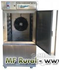 Ultracongelador com 20 bandejas de 60 x 40 todo em inox em promoção