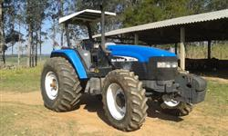 Trator Ford/New Holland TM 135 4x4 ano 03
