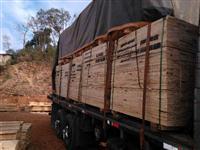 Madeiras de pinus brutas e beneficiadas