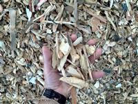 Cavaco de madeira reciclada