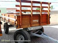 Carreta de Madeira 4 Rodas 4 T - CEMAG -Nova