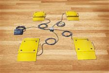 Balança de sapata ideal para pesagens e ensaios agricolas e industriais