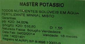 POTÁSSIO LÍQUIDO 34% - FLEX POTASSIUM