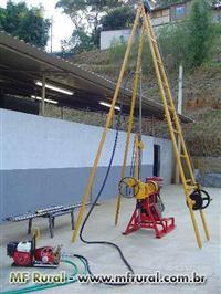 Sonda Rotativa Manual 920 para perfuração até 80 metros