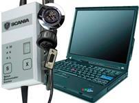 Interface de Diagnsotico Scania VCI1 com Nootbook Para Scania  serie 3 e 4