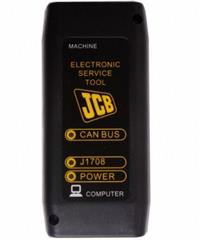 Interface de diagnostico JCB SERVICE TOOL Original mais nootbook