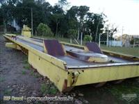 Plataforma de descarga -  Tombador  SAUR, ano 2005/6 - 80 toneladas de carreta