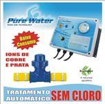 Tratamento de Água Automático ( Ionizador PURE WATER ) Piscinas, Tanques, Lagos
