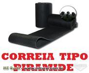 CORREIA EM V, LAMINADA, PVC, EMBORRACHADA, CORRUGADA, PIRÂMIDE, PNEU DE TRATOR