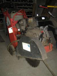 Cortadora de piso e alvenaria Husqvarna FS 400LV - usada