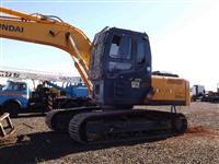 Escavadeira Hyundai modelo X210 LC-7 ano de fabricação 2012