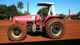 Trator Massey Ferguson 650 HD  4x4 ano 07