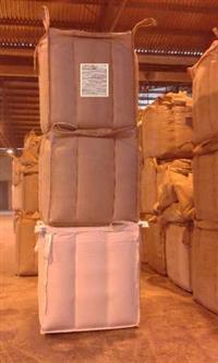 big bag travado  para sementes em geral: milho; feijão, café; arroz; soja