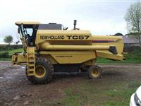 NEW HOLLAND TC57/2001/17PÉS/HIDRO/PENEIRA AUTONIVELANTE