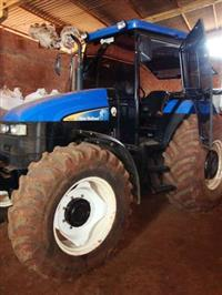 Trator Ford/New Holland TS6020 4x4 ano 10