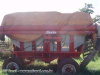 Carreta Bazuca Stara adubo soja milho trator massey ford John Deere rebok