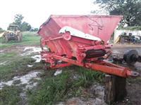 Esparramador de calcareo adubo esteira ferro aço p/masey  Ford carreta truck