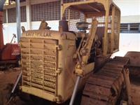 Trator esteira caterpillar d4 serve grade lavoura construção agropecuaria